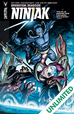 Ninjak (2015- ) Vol. 3: Operation: Deadside